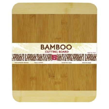 Bamboo Natural Cutting Board (Home Basics Cutting Board Bamboo 13.5 by 11.5-Inch )