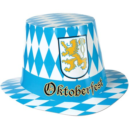 5 Hats Oktoberfest Hi-Hat Adult Halloween Accessory - 5 Floors Halloween