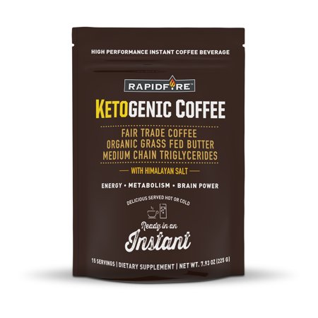 Rapid Fire Ketogenic Coffee Instant Mix, 7.93 oz