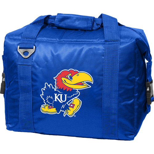 Kansas Jayhawks 12 Pack Soft Sided Cooler