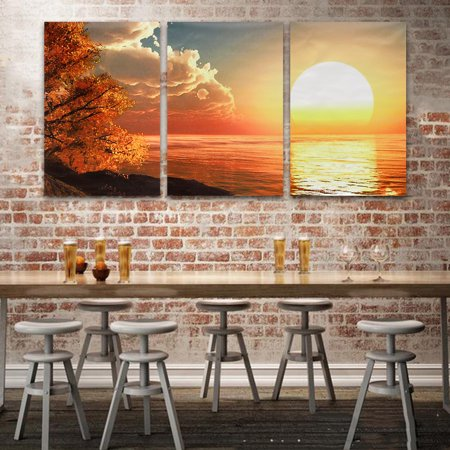 My. Way 1/2/3/5 Pcs Frameless Canvas Prints Pictures, Morden Abstract Paintings, Canvas Wall Art, Home Decor Series ()