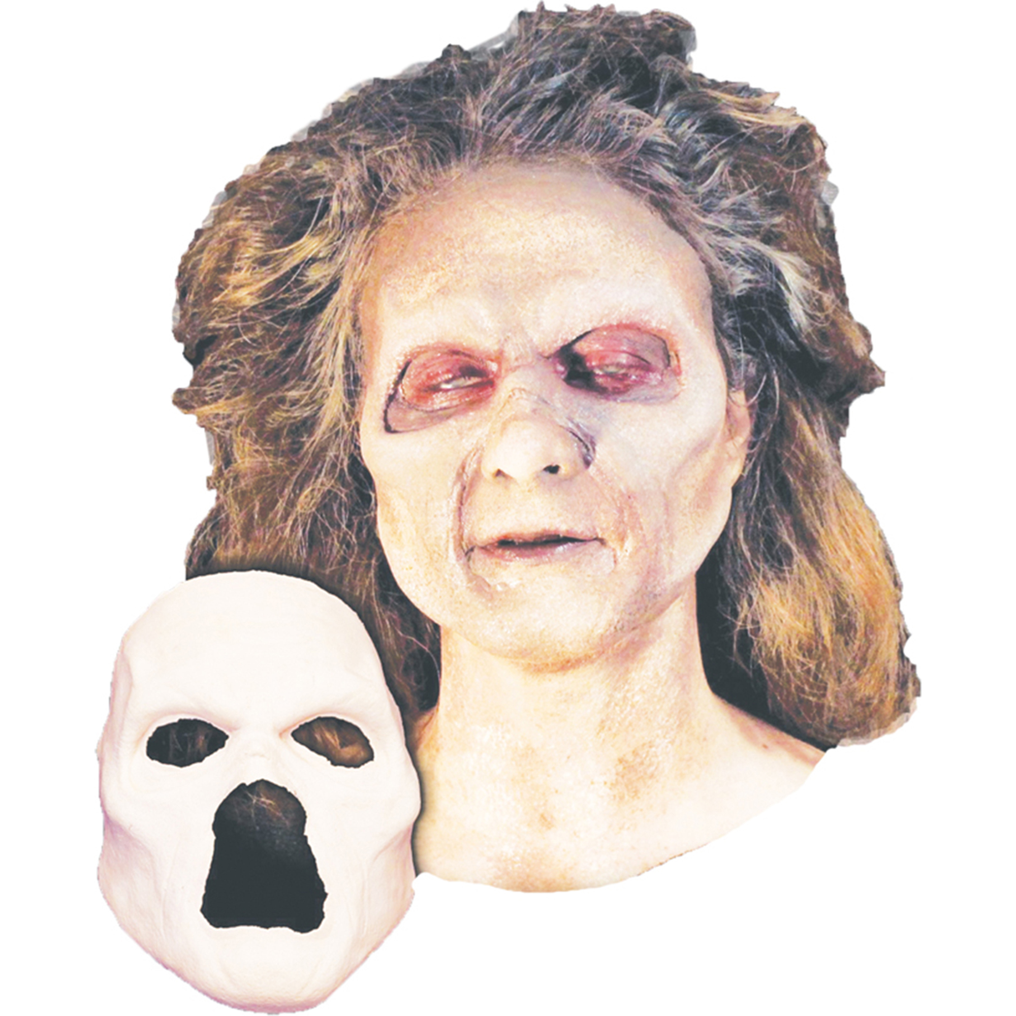 Morris Costumes Undead Zombie Foam Latex Face Costume, Style, HD600143