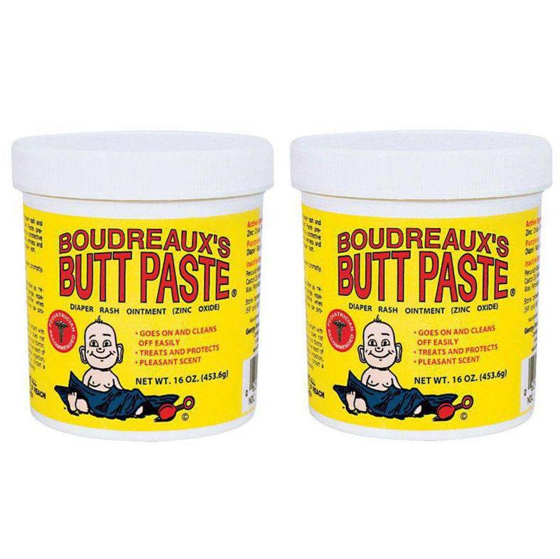 Boudreaux's Butt Paste Diaper Rash Ointment, Original, 16 Ounce