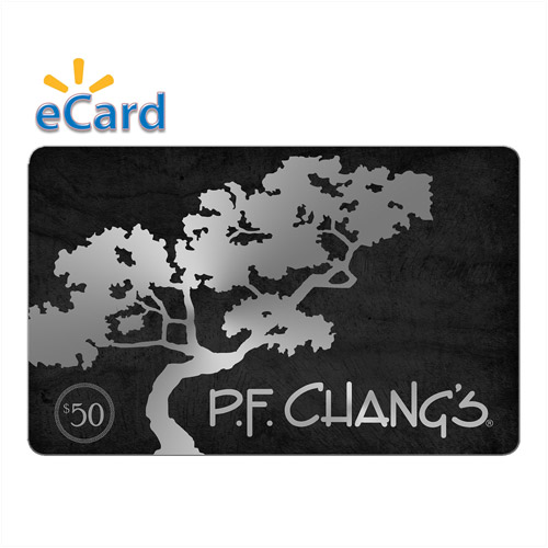 PF Changs $50 (Email Delivery) - Walmart.com