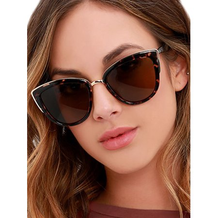 Womens Polarized Classic Vintage Sunglasses Shades Summer Eyewear Sun Glasses