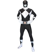 Power Rangers Morphsuit Adult Costume Black