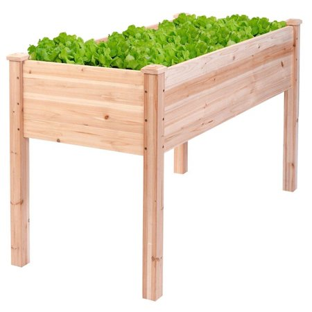 Raised Vegetable Patio Garden Bed Elevated Planter Kit Easy Grow Gardening Vegetables