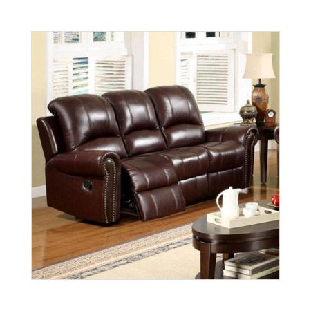 Stupendous Abbyson Living Sedona Reclining Italian Leather Sofa In Machost Co Dining Chair Design Ideas Machostcouk