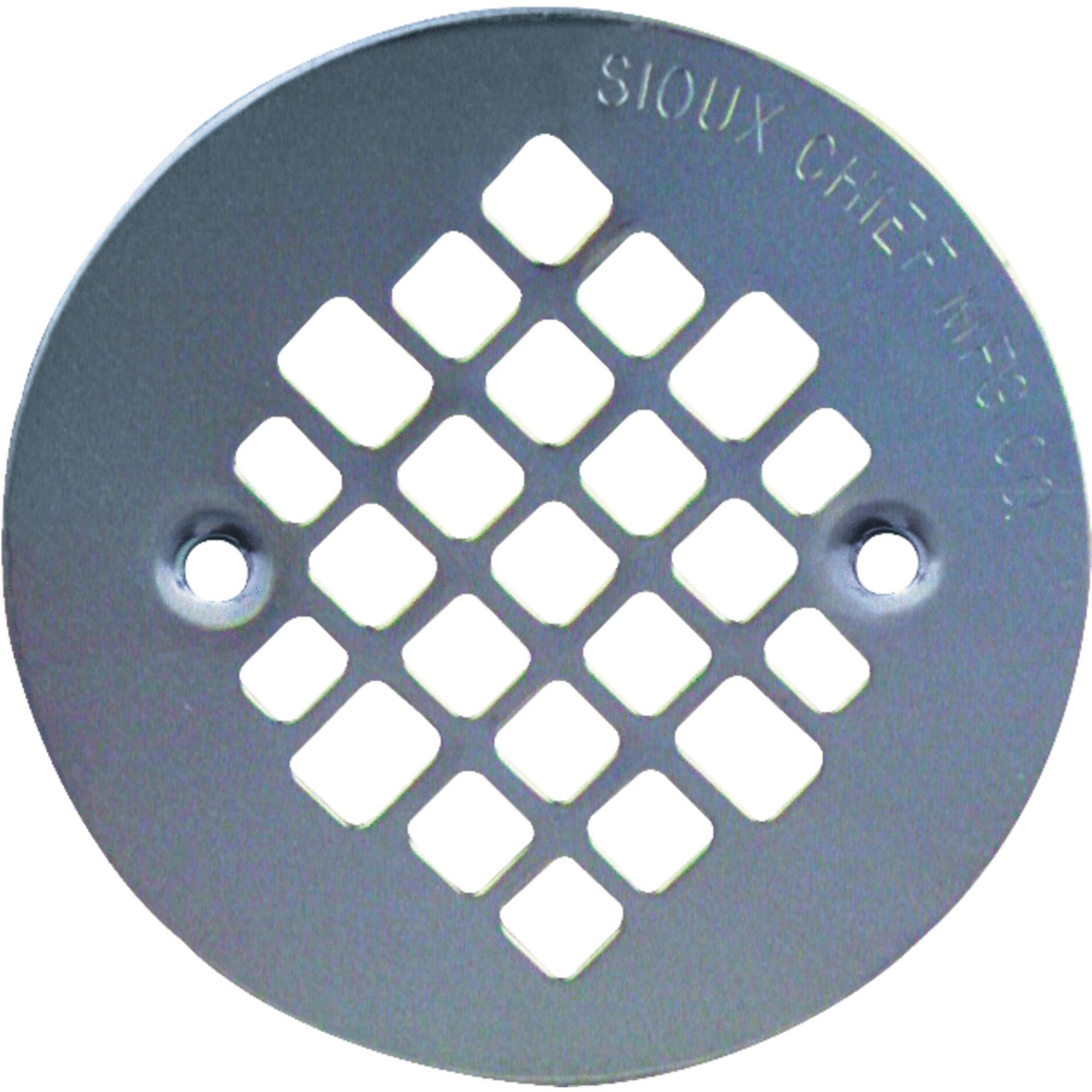 Sioux Chief 4-1/4 Stainless Steel Shower Strainer 821-2SPK1