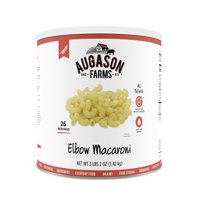 Augason Farms Elbow Macaroni Pasta 3 lbs 2 oz No. 10 Can