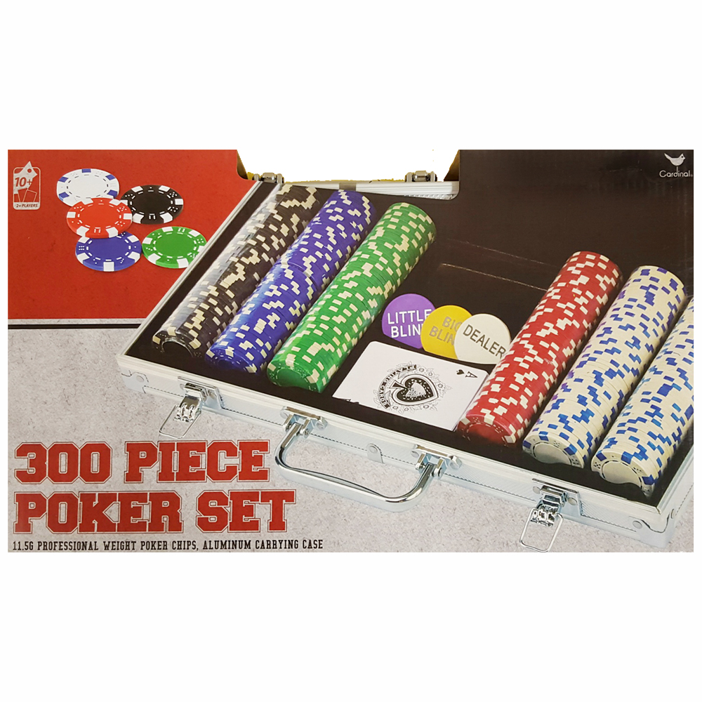 Professional Poker Set Game,  Card Games by Cardinal