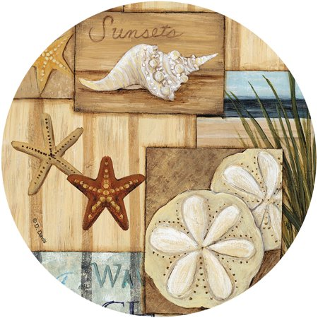 - Thirstystone Drink Coasters Set, At the Beach II