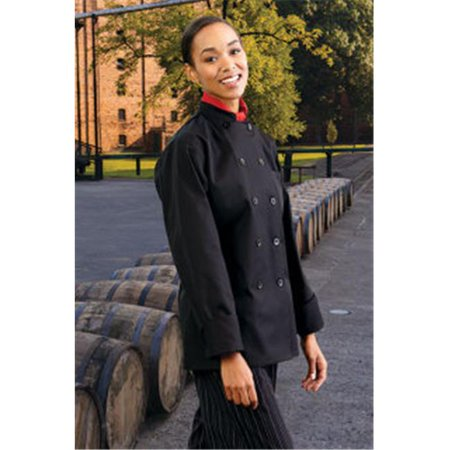 Uncommon Threads 0475-0103 Napa Ladies Coat in Black - Medium