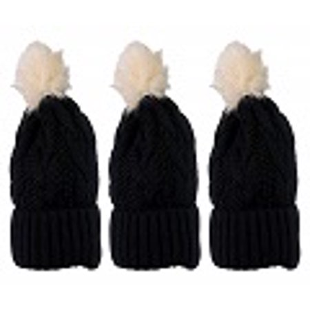 f94c963ec6bad Yacht   Smith - Yacht Smith Womens Pom Pom Beanie Hat