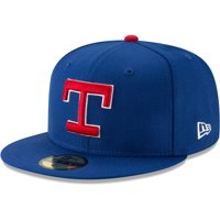 447d9c84f89350 Product Image Texas Rangers New Era Cooperstown Collection Alt Logo Pack 59FIFTY  Fitted Hat - Royal