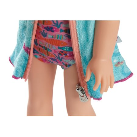 304683e5e5 American Girl Welliewishers Fun Fish Swimsuit & Cover-Up For Dolls - image  7 ...