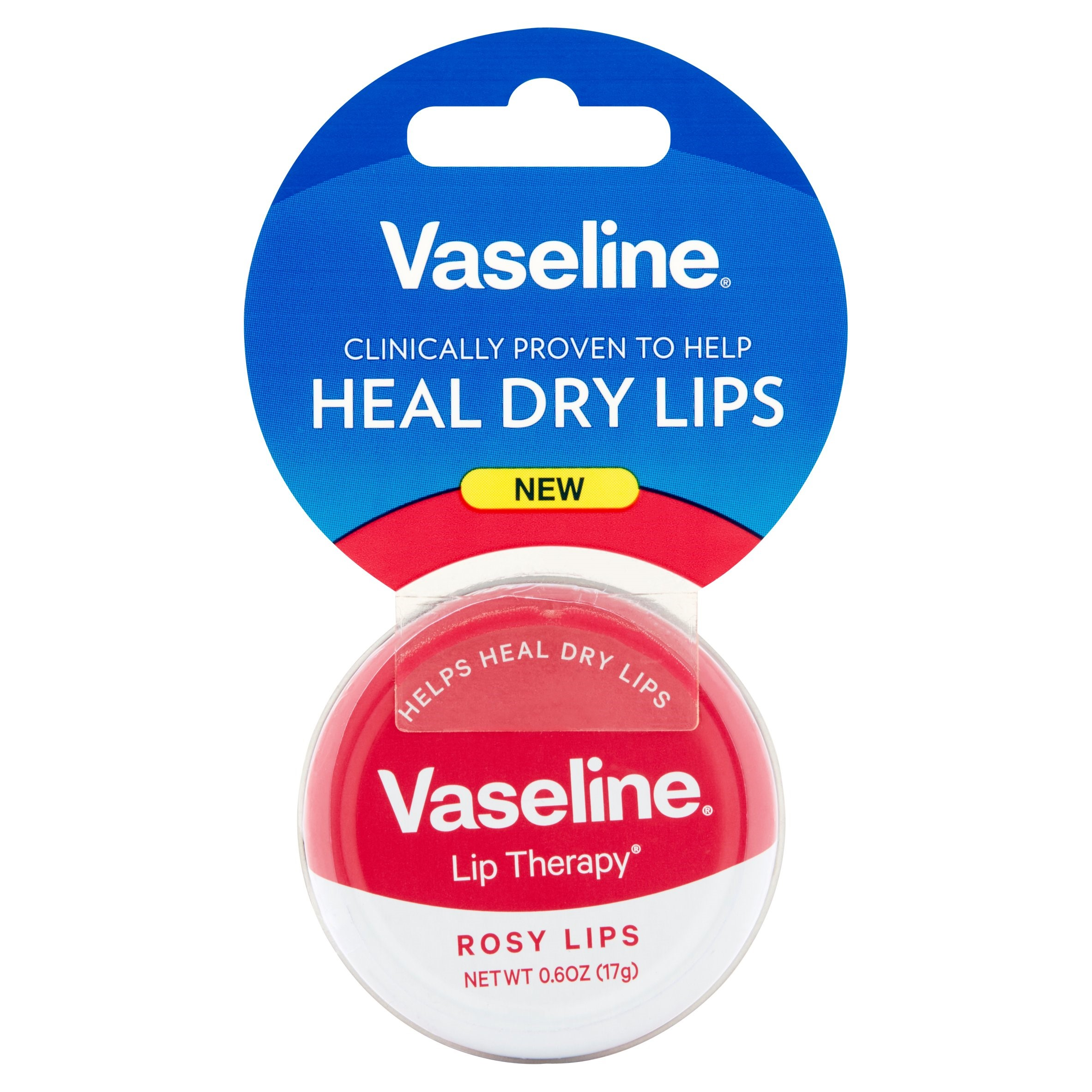 Vaseline Lip Therapy Rosy Lips Lip Balm Tin 0.6 oz