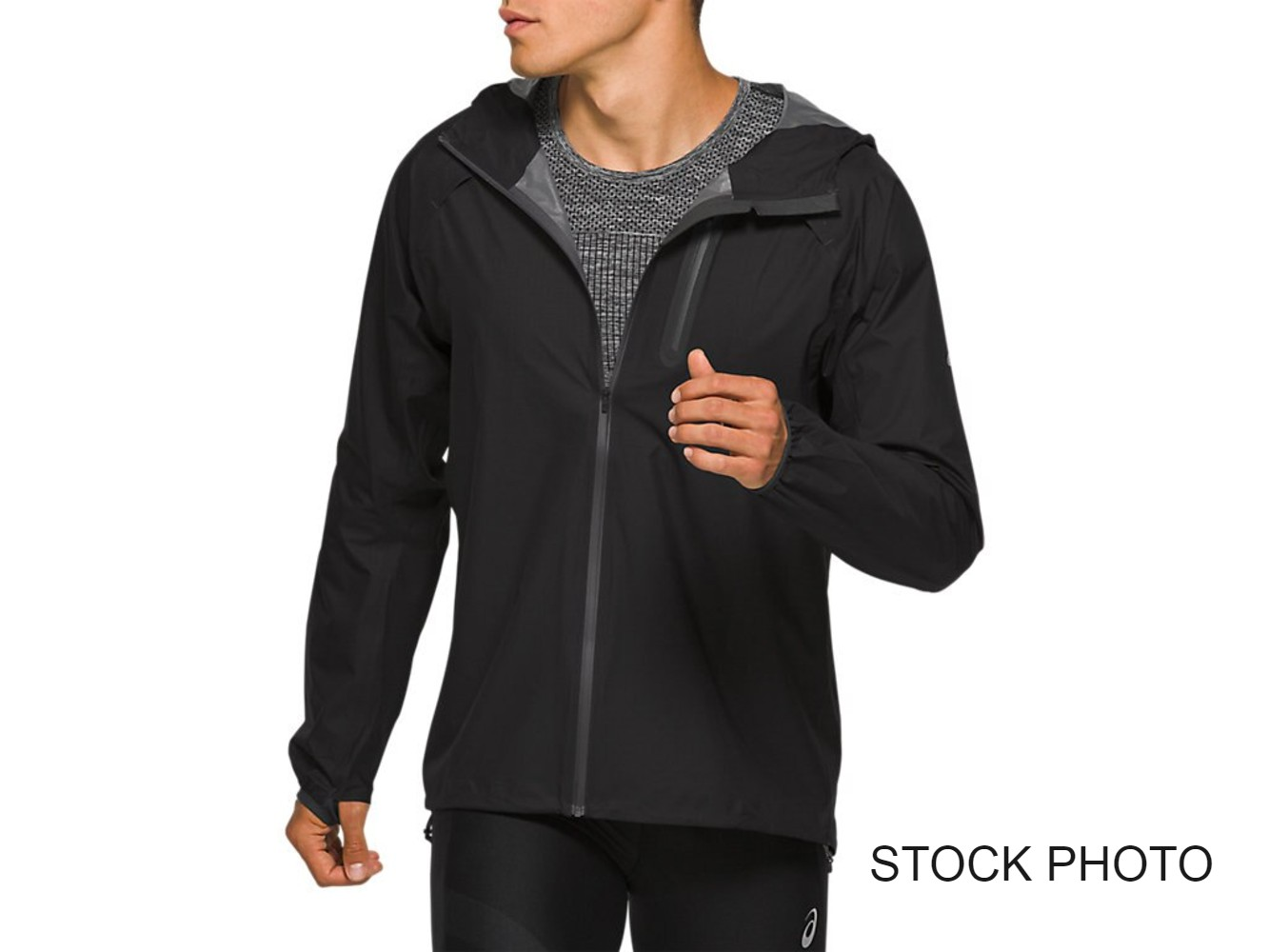 ASICS - Asics Men's Waterproof Running Jacket, Black, 3XL - Walmart.com