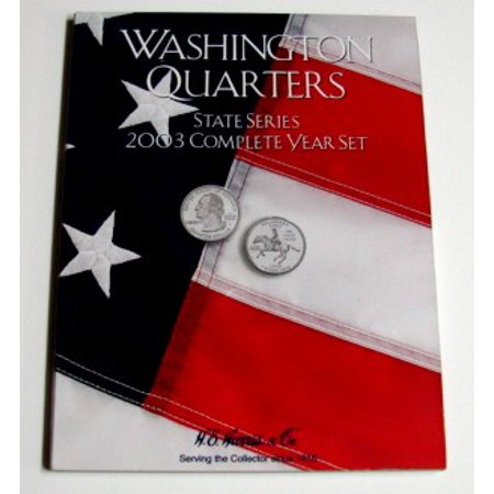 2003 Complete Year Washington State Quarters Coin Folder (D)