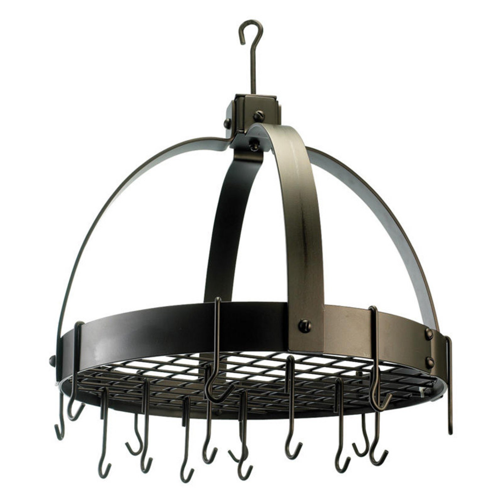 Round Dome Pot Rack with Grid