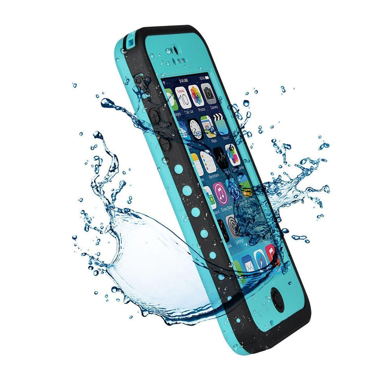 Waterproof Protection Case Cover for Apple Iphone 5C, Aqua Blue - Walmart.com