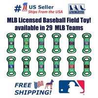 Pets First MLB Texas Rangers Dogs & Cats Durable and Heavy Duty Nylon Field Toy