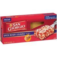 (11 Pack) San Giorgio® Oven Ready Lasagna 8 oz. Box