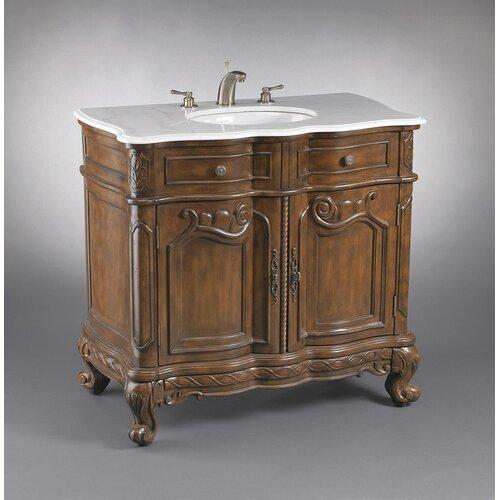 Astoria Grand Epstein 39 Single 2 Door Bathroom Vanity Set Walmart Com Walmart Com