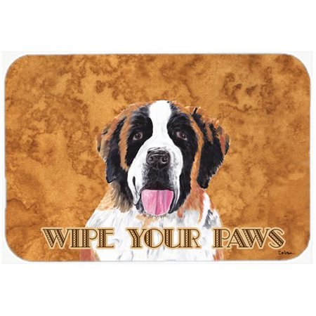 Caroline's Treasures Saint Bernard Kitchen/Bath Mat
