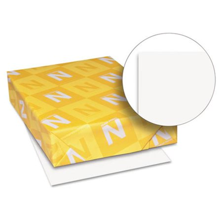 Wausau Paper Index - Wausau Papers 40411 8.5 x 11 Exact Index Card Stock Paper, White