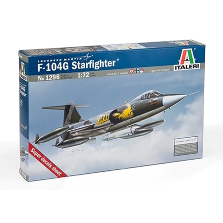 Italeri 1 72 F 104 G Starfighter Lockheed Martin   Plastic Model Kit  1296