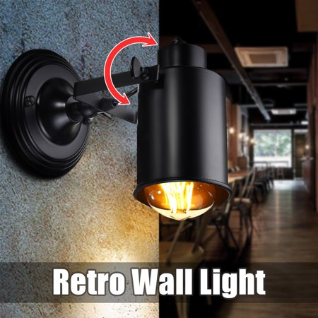 Vintage lofts Light Retro Light,E27 Industrial Adjustable Loft Swing Arm Wall Light Sconce Lamp Night Lighting Coffee Bar Lighting Home Decor
