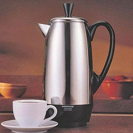 New Farberware Fcp412 Stainless Steel 4 To 12 Cup Electric Perculator - Farberware Percolator Coffee Pot
