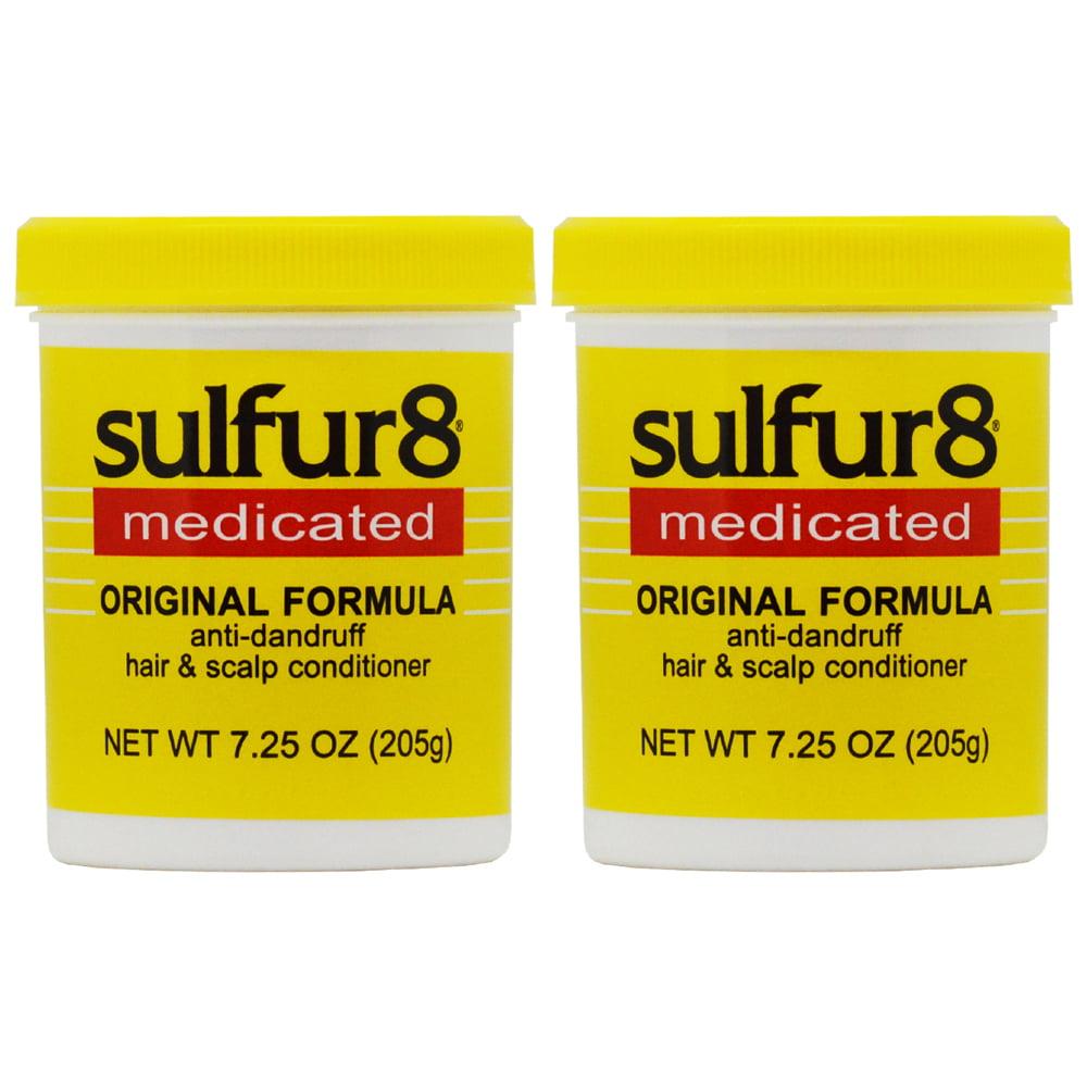 "Sulfur8 Original Formula Anti-dandruff Hair&Scalp Conditioner 7.25oz ""Pack of 2"""