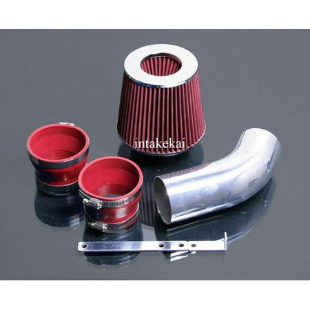 - 2002 2003 2004 2005 AUDI A4 / A4 QUATTRO / A6 / A6 QUATTRO 3.0L V6 SFI DOHC ENGINE AIR INTAKE KIT SYSTEMS (RED)