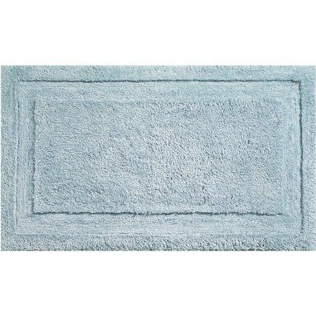 "InterDesign Microfiber Spa Non-Slip Bathroom Shower Rug, 34""x 21"""