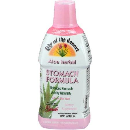 Lily of The Desert Aloe Herbal Stomach Formula 32 Fluid Ounce - 32 Fl Oz
