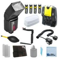 Pro 500EX Digital DSLR Dedicated Flash AF Flash for Canon 20D, 30D, 40D, 70D,...