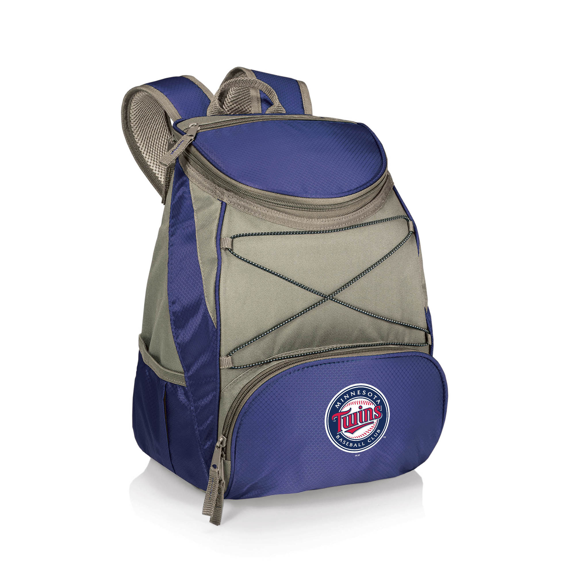 Minnesota Twins PTX Backpack Cooler - Navy - No Size