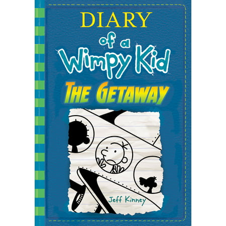 Diary Of A Wimpy Kid  The Getaway  Book 12   Hardcover