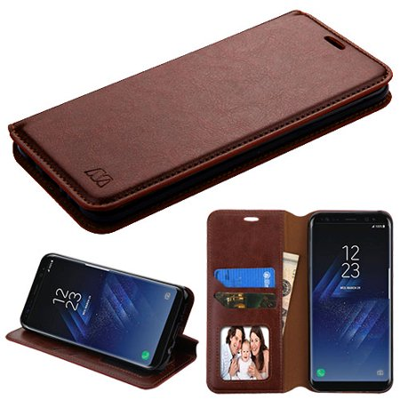 For Samsung Galaxy S8 Plus MyJacket Flip Protective Wallet Cover Stand Pouch