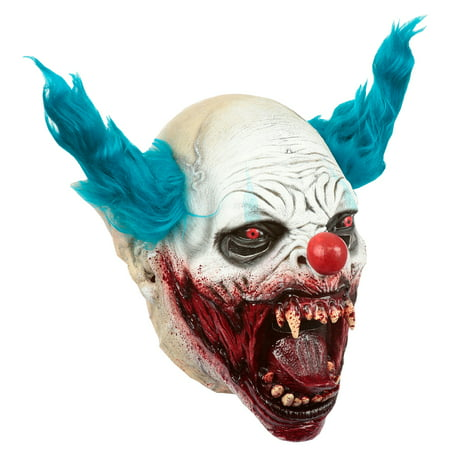 Adult Clown Vampire Scary Latex Mask](Scary Rabbit Mask Halloween)