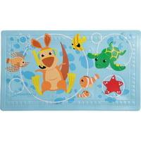 Dreambaby Anti-Slip Bath Mat with Too Hot Indicator, Animals