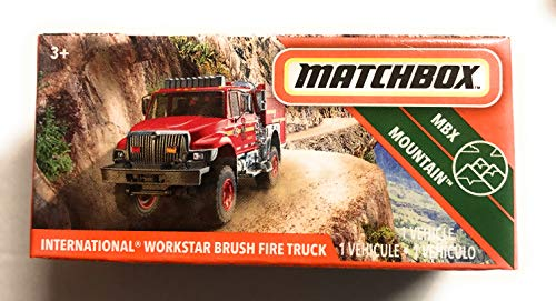 ** INTERNATIONAL WORKSTAR BRUSH FIRE TRUCK **  74 100 MOC MATCHBOX  2020