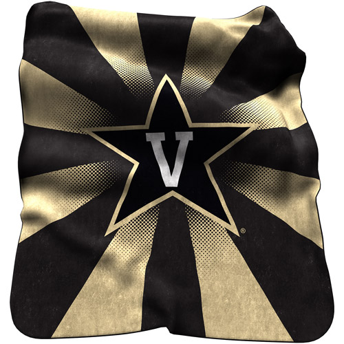 Logo Chair NCAA Vanderbilt Raschel Throw