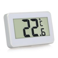 Digital LCD Refrigerator Thermometer Fridge Freezer Thermometer with Adjustable Stand Magnet Frost Alert Home Use