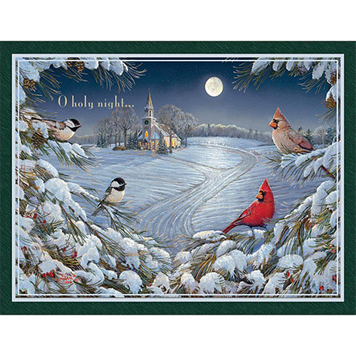 """Lang """"Heart of the Season"""" Assorted Boxed Christmas Cards"""