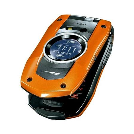 PCD Casio C711 GzOne Boulder Replica Dummy Phone / Toy Phone (Orange) (Bulk (Verizon Gzone Gzone Boulder)