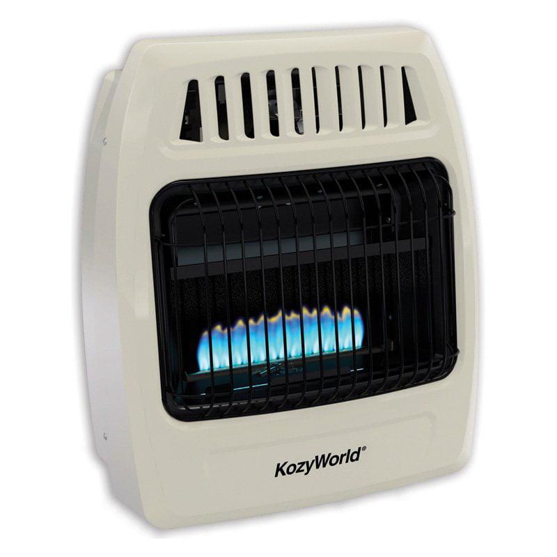Kozy World KWD258 Dual Fuel Wall Heater