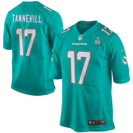 Ryan Tannehill Miami Dolphins Nike Team Game 2015 NFL Patch Jersey - Aqua Nfl Autographed Jerseys Shop